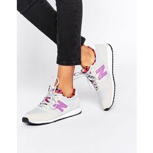 New Balance - Sneakers in Grau & Rosa, 420