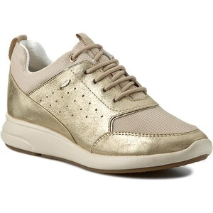 Sneakers GEOX - D Ophira B D621CB 0KY14 C2LH6 Lt Gold/Lt Taupe