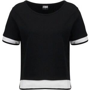 Urban Classics LADIES TERRY Sweatshirt black/white