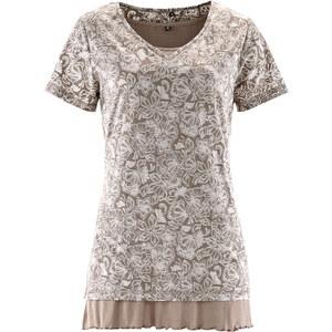 bpc bonprix collection Halbarm-Shirt (2tlg.) in braun für Damen von bonprix