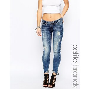 Noisy May Petite - Kate - Jean taille ultra basse - Bleu