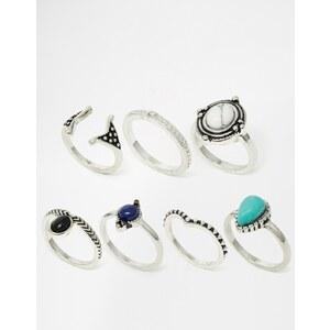 ALDO - Legang - Ringe im Multipack - Silber