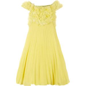 Monsoon Estella Plissee-Kleid mit Rosenverzierungen
