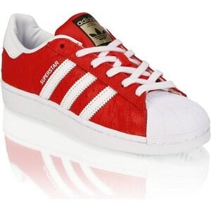 Superstar Animal Adidas Originals rot kombiniert