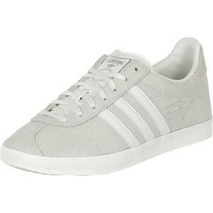 adidas Gazelle Og W Schuhe white/silver metallic