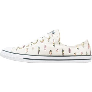 Converse CHUCK TAYLOR ALL STAR DAINTY Sneaker low parchment/steel can/white