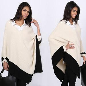 Lesara Pull en tricot style poncho