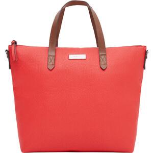 MANGO Tote Bag In Genarbter Optik