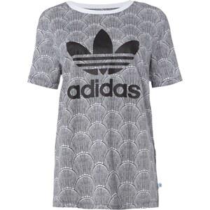 adidas Originals T-Shirt mit Allover-Muster und Logo-Print