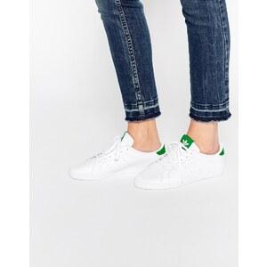 adidas Originals - Miss Stan - Sneakers in Weiß & Grün - Weiß