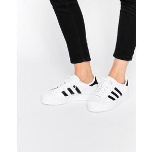 adidas Origninals - Superstar - Sneakers in Weiß & Schwarz - Weiß