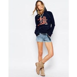 Hollister - Denim-Shorts in heller Waschung - Hellblau