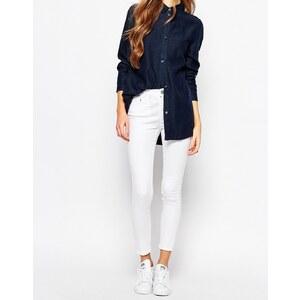 Waven Freya - Knöchellange enge Jeans - Weiß