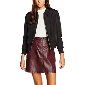 New Look Damen Jacke Zip Through Bomber