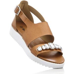 RAINBOW Sandales à plateau marron chaussures & accessoires - bonprix