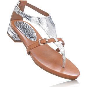 BODYFLIRT Mules entredoigt marron chaussures & accessoires - bonprix