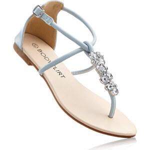 BODYFLIRT Sandales bleu chaussures & accessoires - bonprix