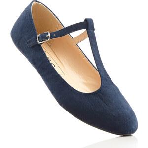 bpc bonprix collection Ballerines à bride en T bleu chaussures & accessoires - bonprix