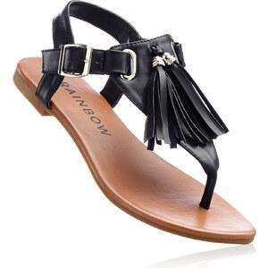 RAINBOW Sandales noir chaussures & accessoires - bonprix
