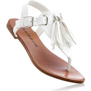 RAINBOW Sandale in weiß von bonprix