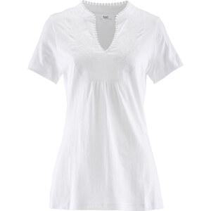 bpc bonprix collection Kurzarmshirt in weiß für Damen von bonprix