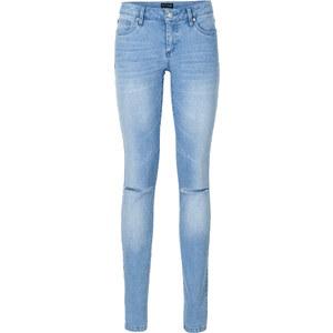 BODYFLIRT MUST-HAVE: Push-up skinny Jeans in blau für Damen von bonprix