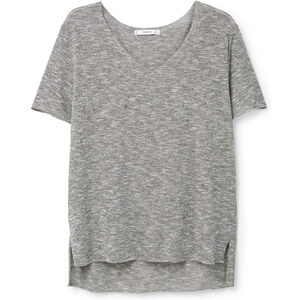 MANGO Meliertes T-Shirt