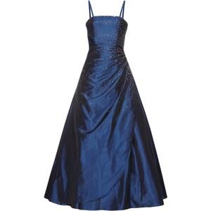 Luxuar Abendkleid mit Zierperlenbesatz