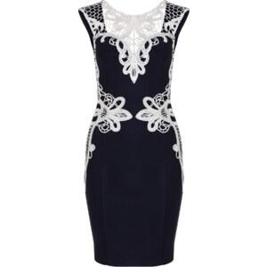 Lipsy Figurnahes Kleid mit Spitzenborte