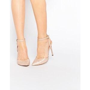 ASOS - PAVILLION - Chaussures pointues à talons hauts - Beige
