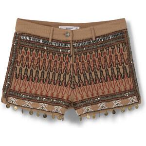 MANGO Short Coton Brodé