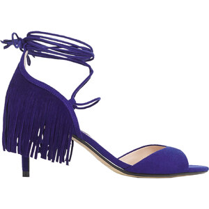 MANGO Sandaletten Mit Fransen-Details