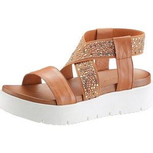 Inuovo Sandale mit trendiger weißer Sohle