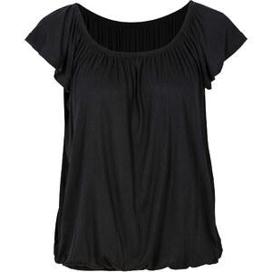 BODYFLIRT Carmen Shirt in schwarz von bonprix