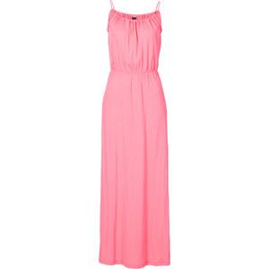 BODYFLIRT Shirtkleid ohne Ärmel in pink von bonprix