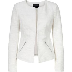 BODYFLIRT Bouclé-Blazer in weiß für Damen von bonprix