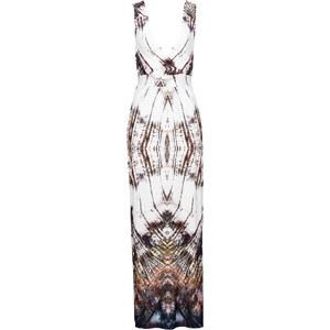 BODYFLIRT Maxi-Kleid in weiß von bonprix