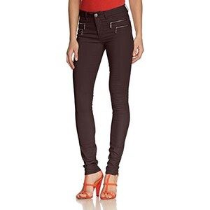 ONLY Damen Straight Leg Hose onlOLIVIA COATED NOOS