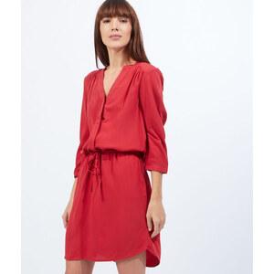 Robe blouse, lien taille Etam