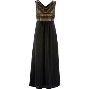 bpc selection premium Premium Kleid mit Pailletten in schwarz von bonprix