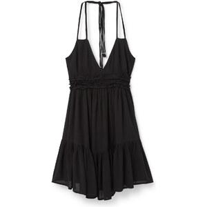 MANGO Kleid Mit Volantrock