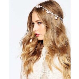 ASOS Wedding - Haarschmuck mit Blüten und Perlen - Mehrfarbig