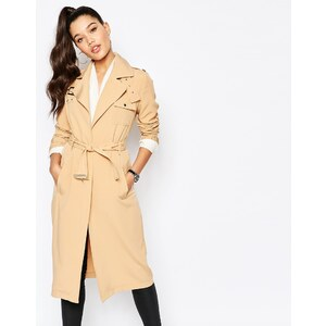 Missguided - Trench-coat militaire - Beige
