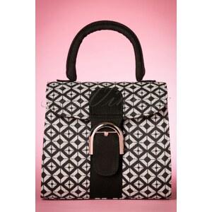 Ruby Shoo 50s Riva Art Deco Bag in Black and White