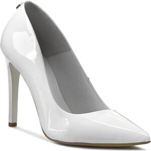 High Heels R.POLAŃSKI - 0758 Biały Lakier