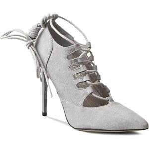 High Heels R.POLAŃSKI - 0815 Szary Zamsz