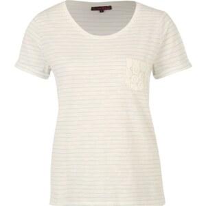 TOM TAILOR DENIM T Shirt mit Spitzentasche
