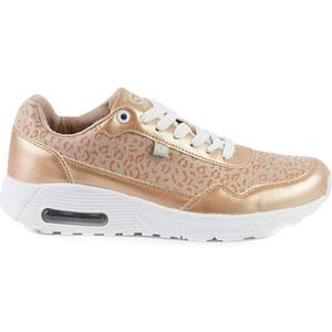 Lesara Sneaker in Metallic-Optik - 38
