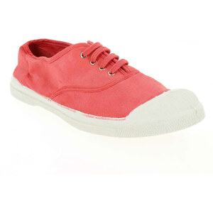 Soldes - Baskets mode Bensimon LACET FEMME E14 Rouge Femme