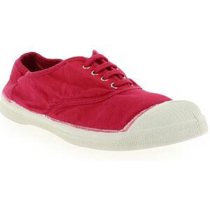 Baskets mode Femme Bensimon en Textile Rouge